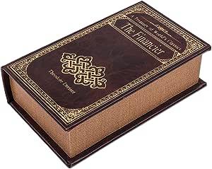 """'Libro Caja en imitación de cuero, caja regalo""""The"""
