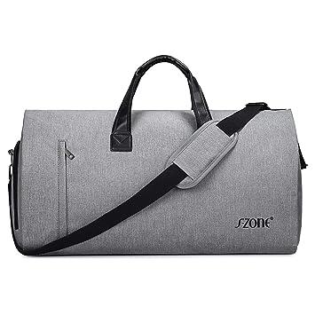 Amazon.com: S-ZONE - Bolsa de transporte para ropa de 2 en 1 ...