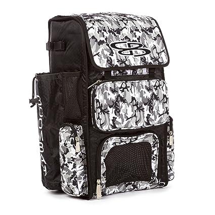 9b6c5151473 Boombah Superpack Bat Pack -Backpack Version (no Wheels) - Holds 2 Bats -