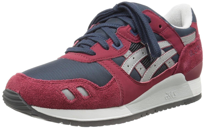 ASICS Men's GEL-Lyte III Sneaker B00HANNBLA 7.5 D(M) US Burgundy/Soft Grey