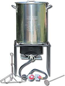 King Kooker SS12RTF Outdoor Fryer, Stainless Steel