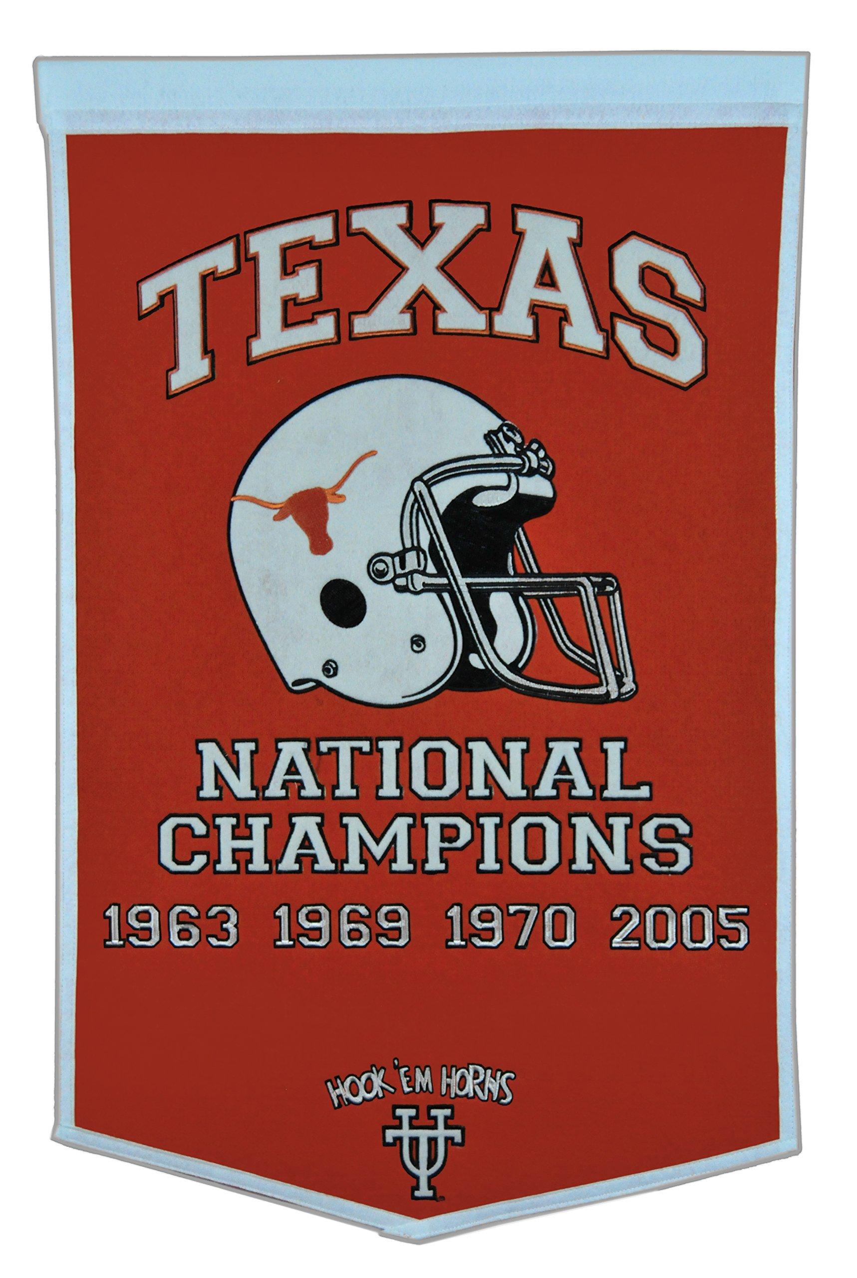 Winning Streak NCAA Texas Longhorns Dynasty Banner by Winning Streak