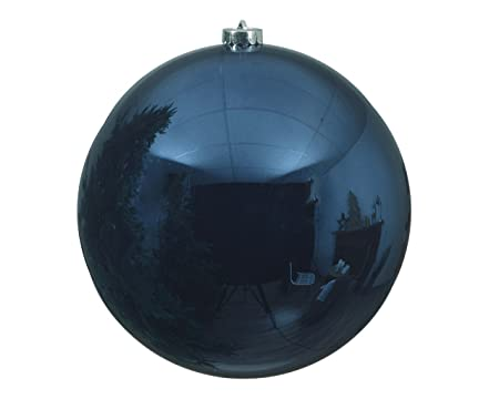 christmas tree baubles pvc 14 cm for the christmas tree navy bluemidnight blue