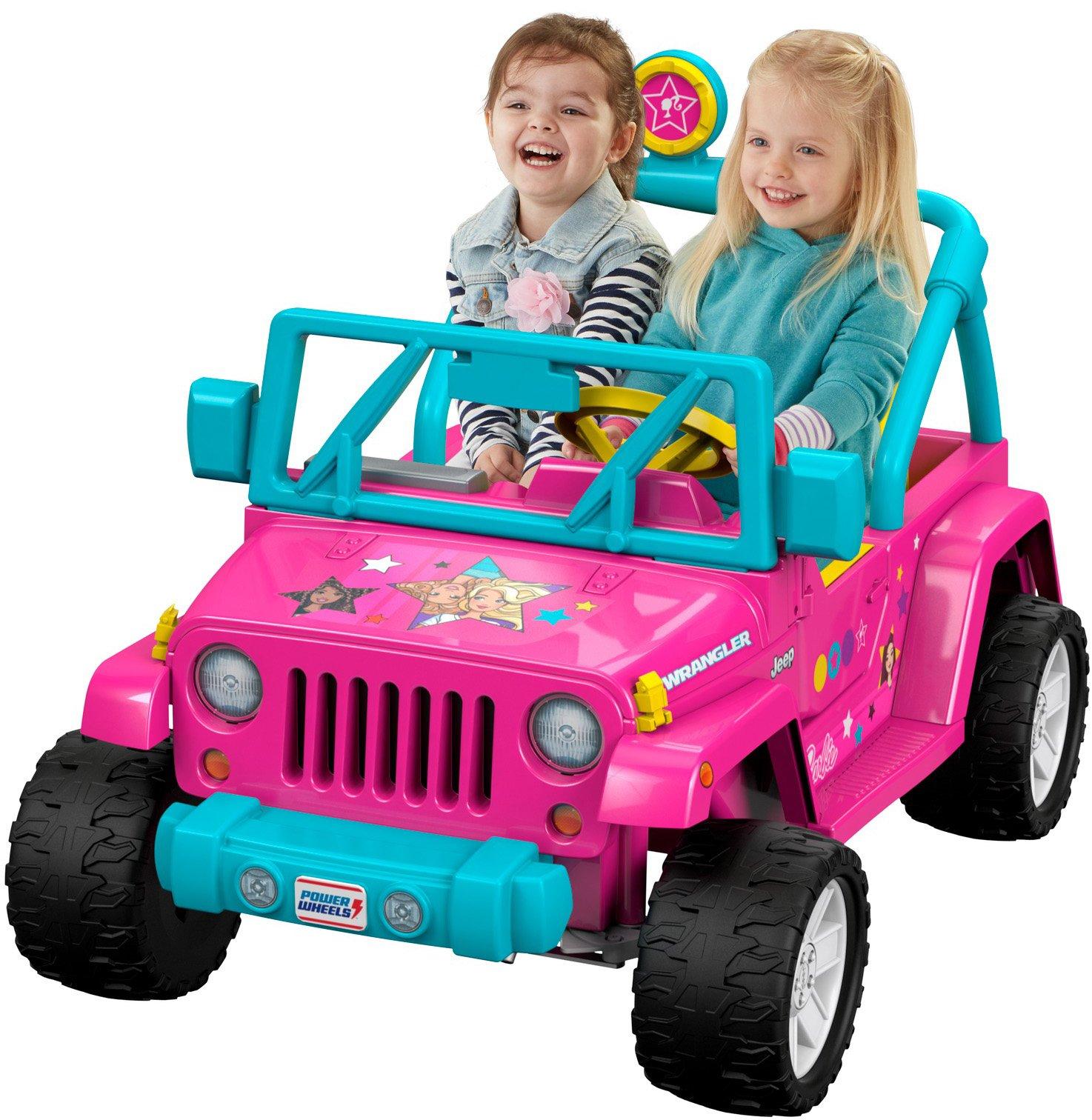 Power Wheels Barbie Jeep Wrangler by Fisher-Price