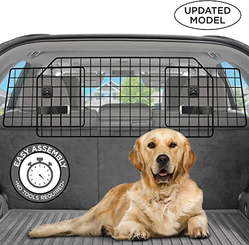 Pawple Dog Barrier for SUV s, Cars Vehicles, Heavy-Duty – Adjustable Pet Barrier, Universal Fit
