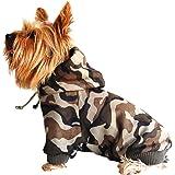 Camouflage Drawstring Pet Hoodie