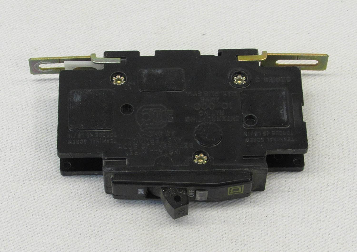 Square D Circuit Breaker 20 Amp 1 Pole Qou120 Thermal Magnetic Breakers Automotive Panel Mount 15