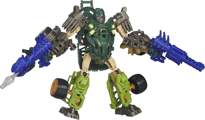 GRIMLOCK Transformers Age of Extinction Contruct-Bots Autobot buildable figure