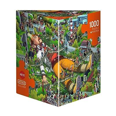 Heye Puzzles - Triangular, 1000pc - Gulliver, Oesterle: Toys & Games