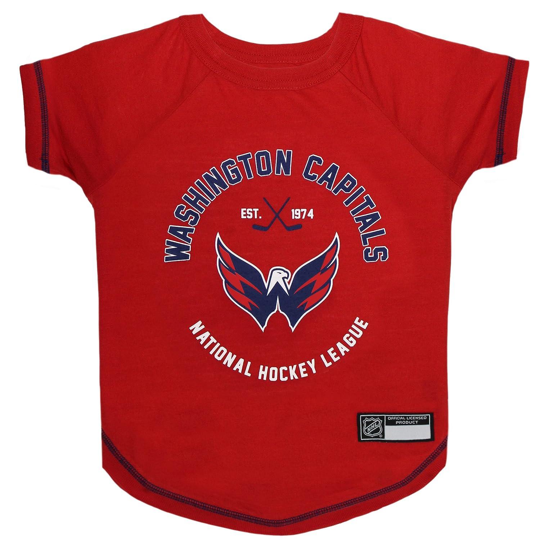 newest d4d58 8750d Amazon.com : NHL Washington Capitals Tee Shirt for Dogs ...