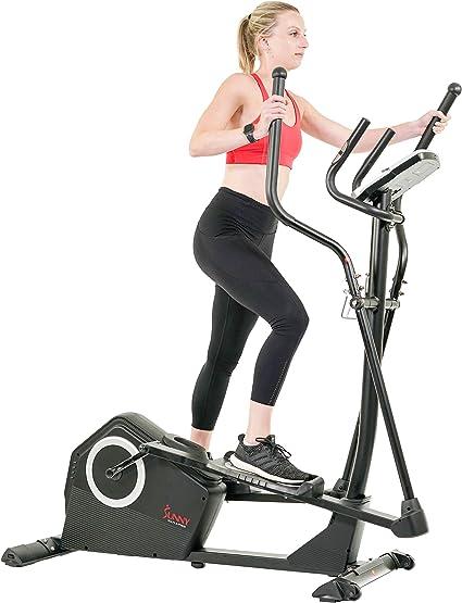 Sunny Health /& Fitness Pre-Programmed Elliptical Trainer