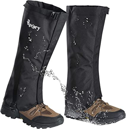 Waterproof Snow Boot Gaiters Hiking Walking Climbing Hunting Snow Gaiters