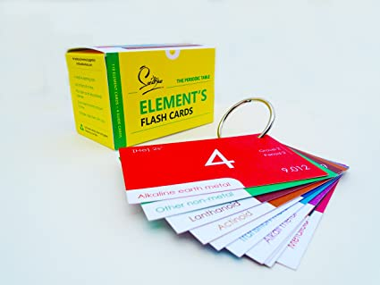 Periodic table elements flash cards amazon office products periodic table elements flash cards urtaz Image collections