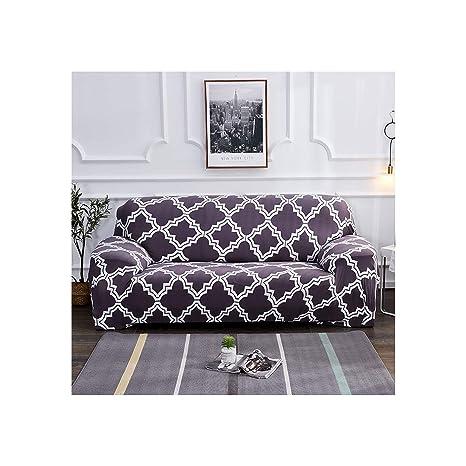 Heat-Tracing - Funda elástica para sofá de salón, Forma de L ...