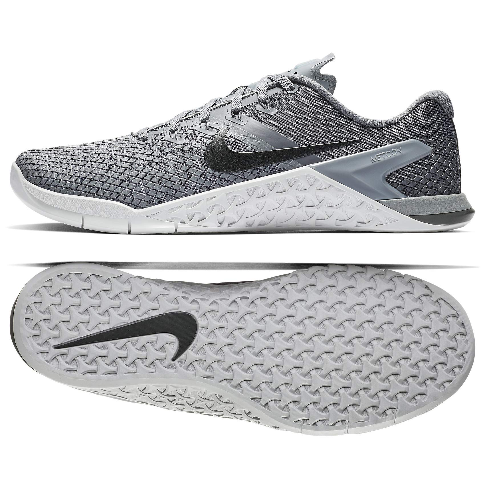 Nike Metcon 4 XD BV1636-164 Cool Grey/Black/Dark Grey Men's Training Shoes (7.5)