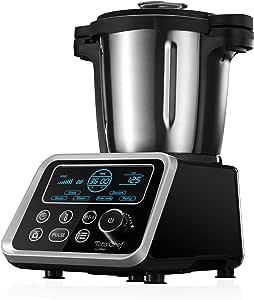 Ufesa Totalchef - Robot de Cocina con múltiples programas para cocinar, 1700W de potencia, pantalla LCD, jarra con 3,5L de capacidad, incluye recetario: Amazon.es: Hogar