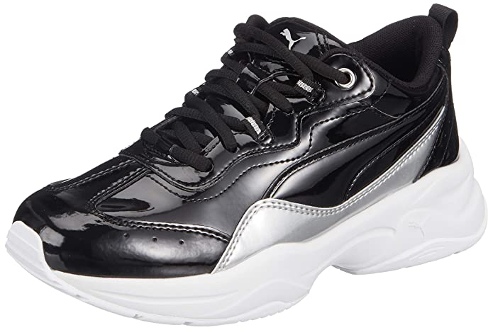 Puma Women's Cilia Patent Jr Sneaker