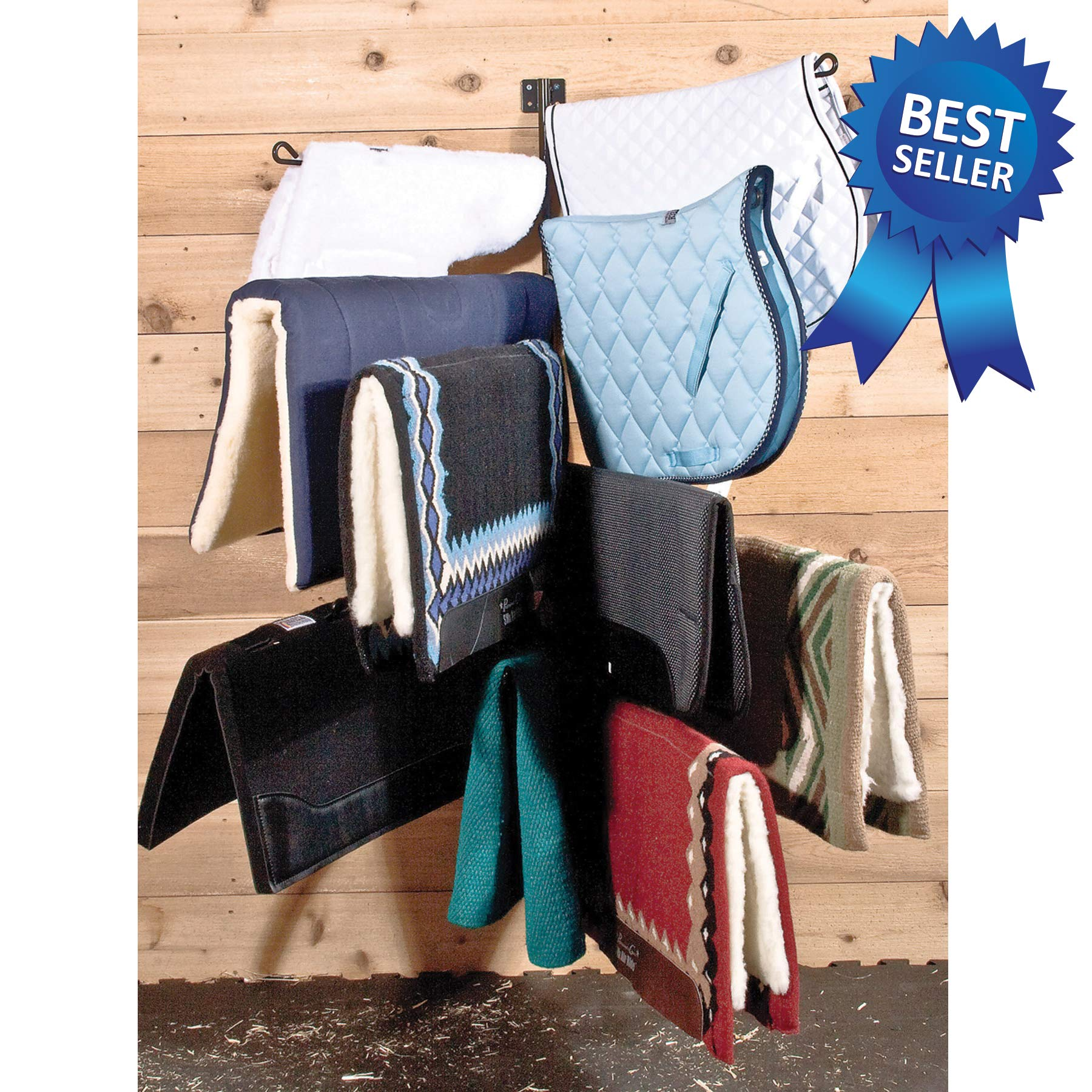 Easy-Up 10 Arm Vertical Pad Rack by Easy-Up (Image #1)
