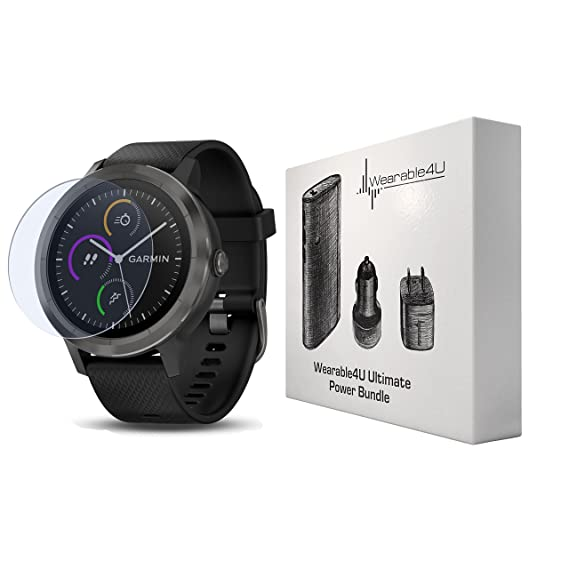8cc3d0a31 Garmin Vivoactive 3 GPS Smartwatch with Touchscreen Display and Contactless  Payments Feature and Wrist-Based