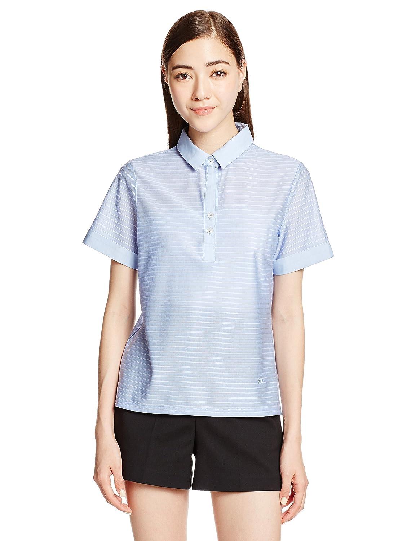 (マックレガー) McGREGOR ストライプジャージポロシャツ B01EFO3SMI L|ブルー ブルー L