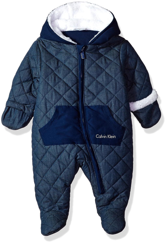 7b2780d41 Amazon.com  Calvin Klein Baby Boys  Quilted Pram  Clothing