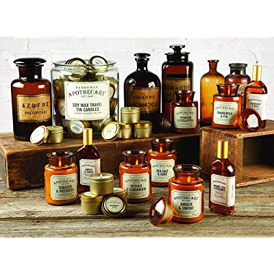 Paddywax Candles APG801 Apothecary Collection Soy Wax Blend Candle in Glass Jar,