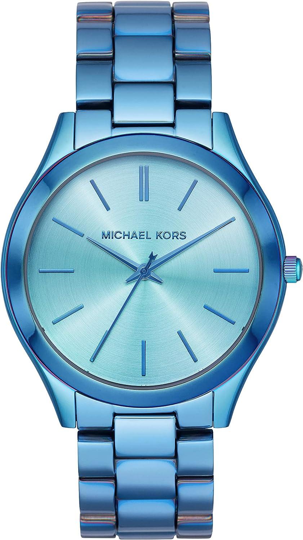 Michael Kors Reloj Analógico para Mujer de Cuarzo con Correa en Acero Inoxidable MK4390