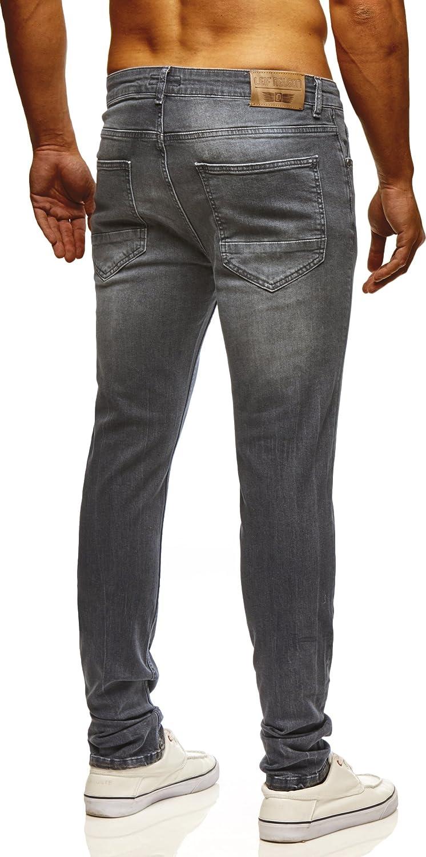 LEIF NELSON hommes pantalon Jeans jeans Pantalon de loisir Denim LN722GR:  Amazon.fr: Vêtements et accessoires