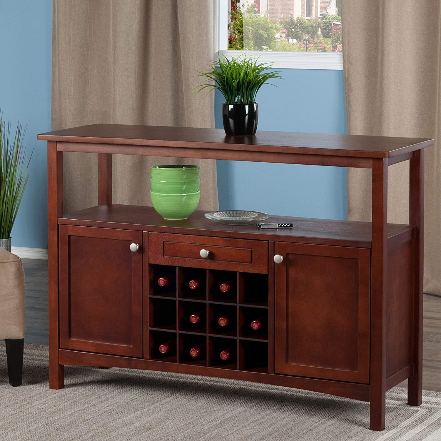 Winsome Wood Colby Buffet Cabinet