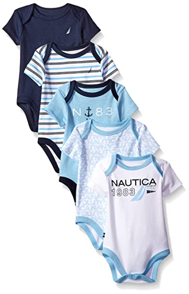 Amazon.com: Nautica - Body para niño recién nacido (5 ...