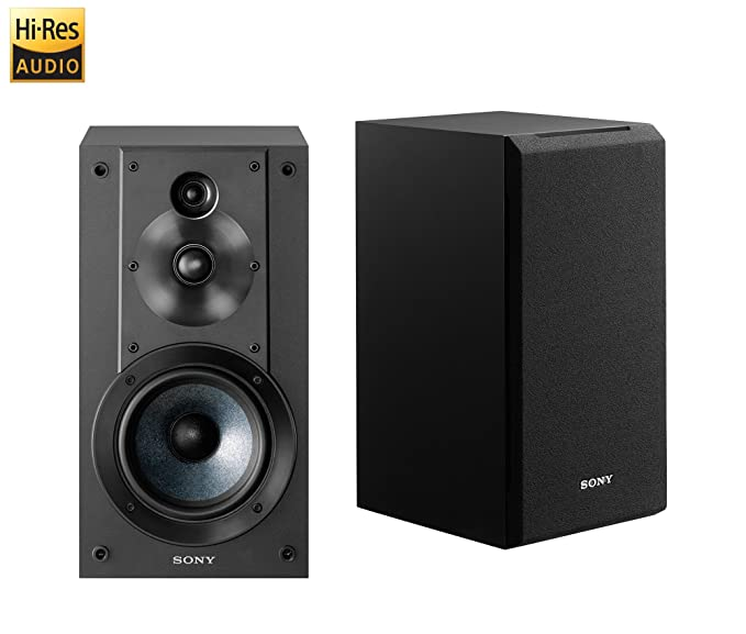 Sony SSCS5 3 Way Driver Bookshelf Speaker System Black Price Buy Online In India Amazonin