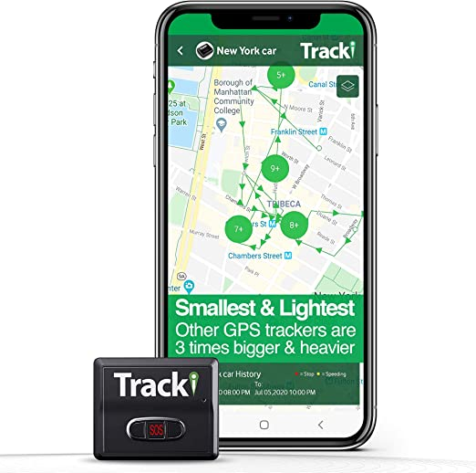 Amazon Com Tracki 2020 Model Mini Real Time Gps Tracker Full Usa Worldwide Coverage For Vehicles Car Kids Elderly Dogs Motorcycles Magnetic Hidden Small Portable Tracking Device Monthly Fee Required Mp3