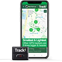 Tracki 2020 Model Mini Real time GPS Tracker. Full USA & Worldwide Coverage. for Vehicles, Car, Kids, Elderly, Dogs…