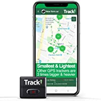Tracki 2021 Model Mini Real time GPS Tracker. Full USA & Worldwide Coverage. for Vehicles, Car, Kids, Elderly, Dogs & Motorcycles. Magnetic Hidden Small Portable Tracking Device. Monthly fee Required