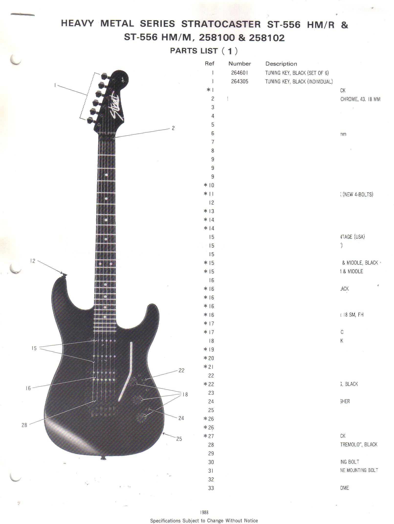 fender heavy metal series stratocaster st 556 hm r st 556 hm m rh amazon com Fender 5-Way Switch Wiring Strat Humbucker Wiring-Diagram