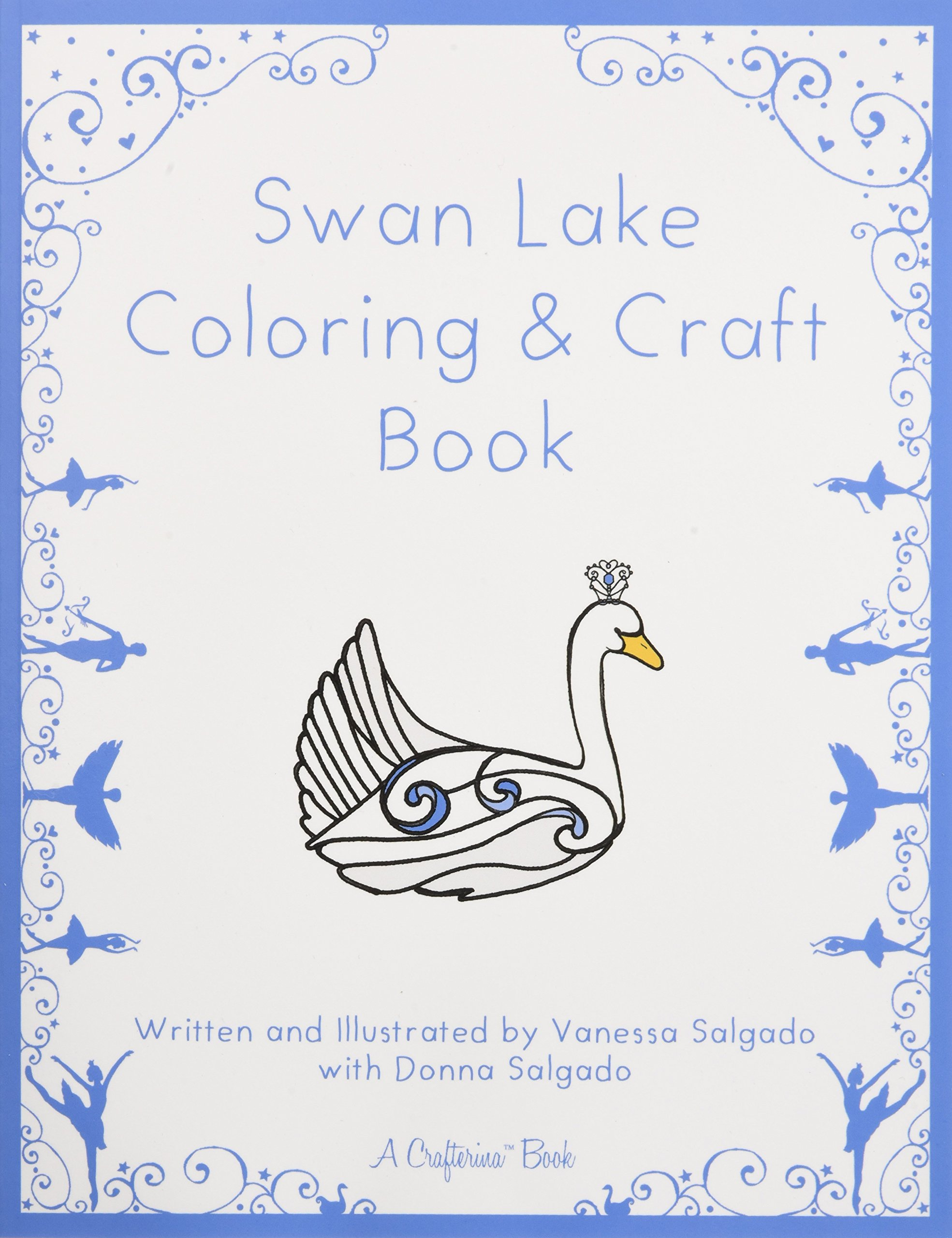 Swan Lake Coloring & Craft Book