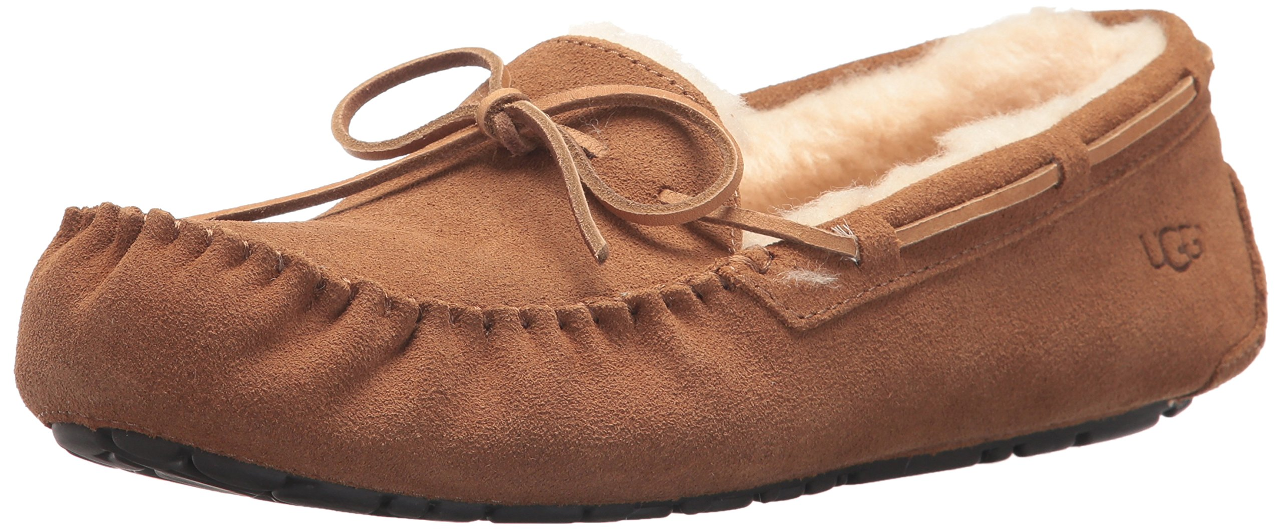 UGG Men's Olsen Moccasin, Chestnut, 9 M US