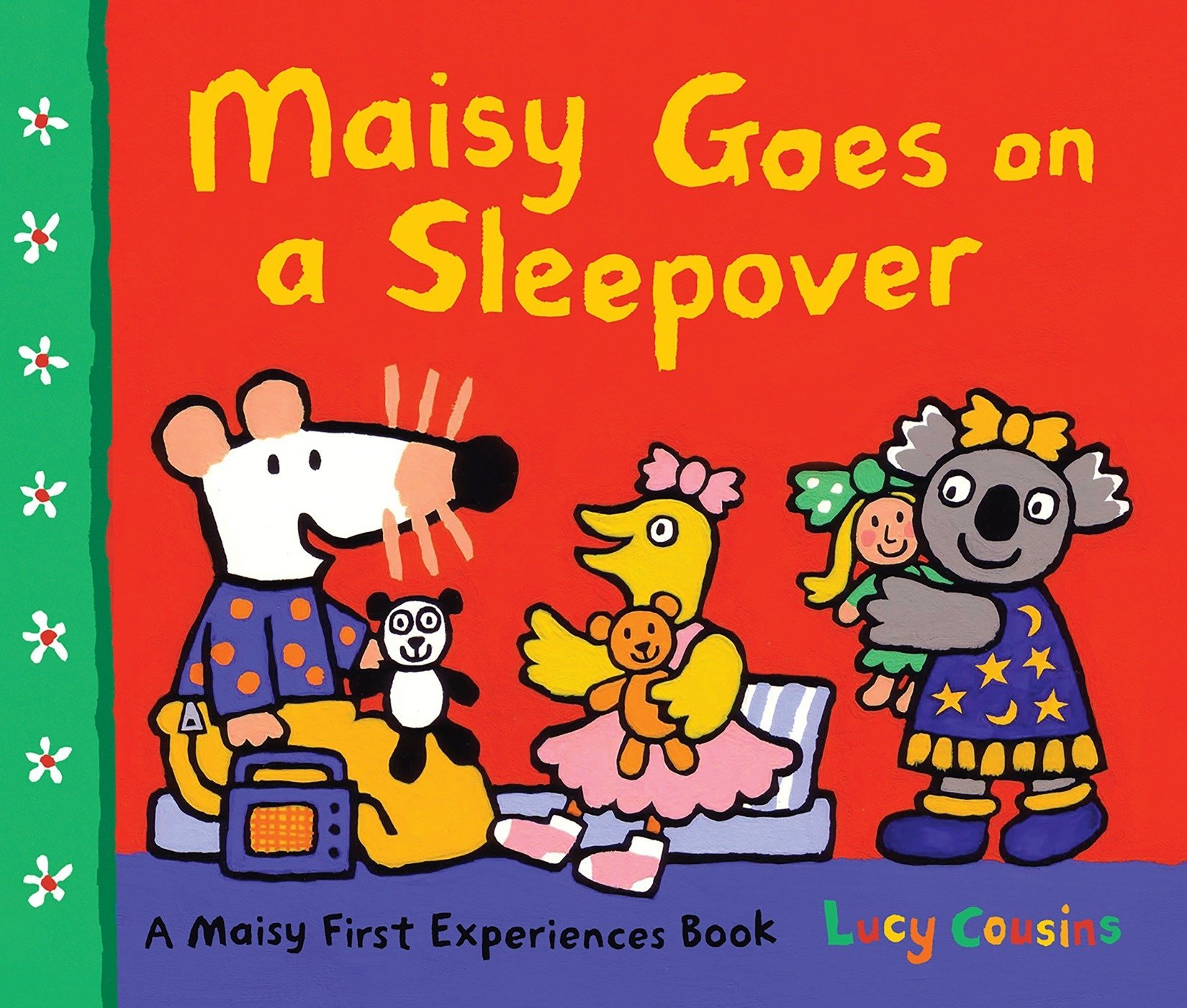 maisy goes on a sleepover a maisy first experience book lucy