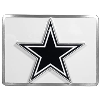 ca1280a4849 Image Unavailable. Image not available for. Color  Siskiyou Dallas Cowboys  NFL Hitch Cover ...