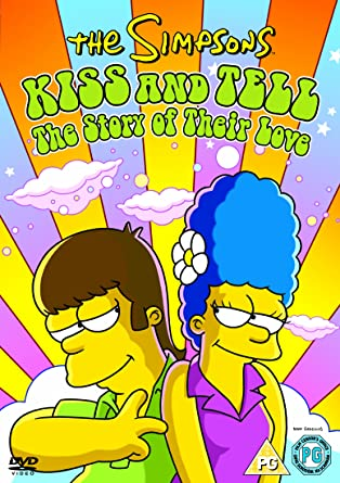 Amazon Com The Simpsons Kiss And Tell The Story Of Their Love Dvd The Simpsons Movies Tv