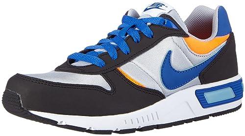 sale retailer b6fa0 1deed Nike Nightgazer Scarpe da Corsa, Unisex Bambino, Multicolore (Wlf Grey/Gm  RYL