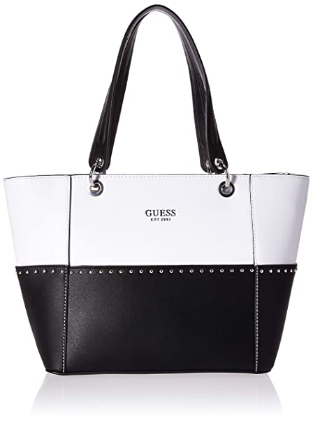 Guess Black Kamryn Tote With Pouch