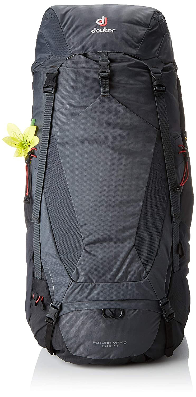 Deuter Damen Futura Vario 45 + 10 SL Rucksack, Graphite-schwarz, 74 x 32 x 30 cm, 55 L