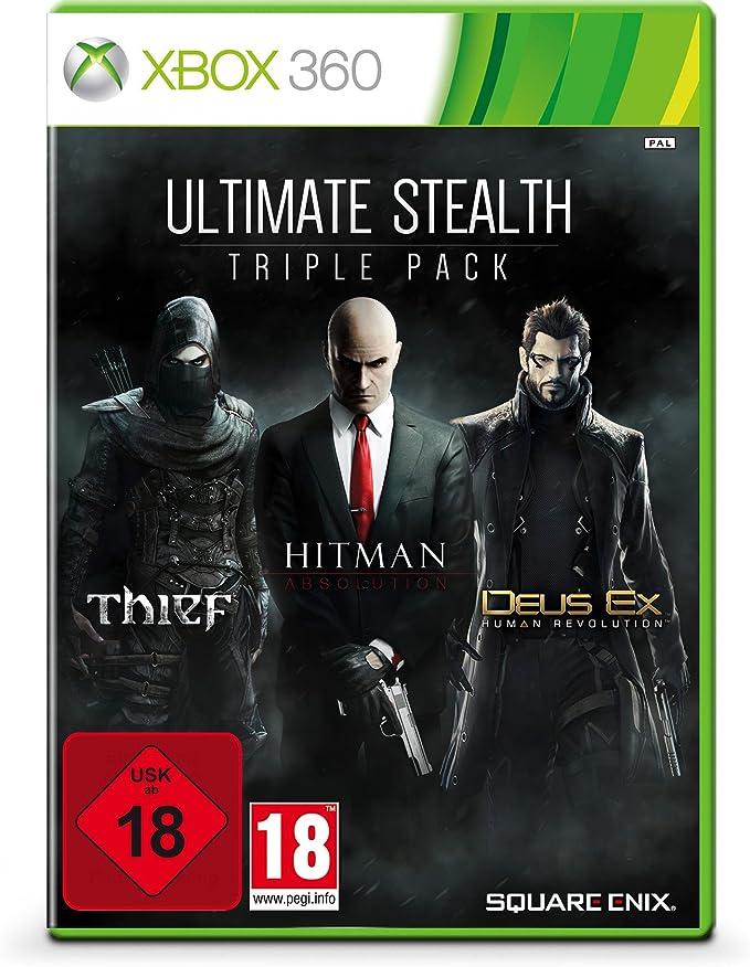 Ultimate Stealth Triple Pack - Thief, Hitman: Absolution, Deus Ex ...