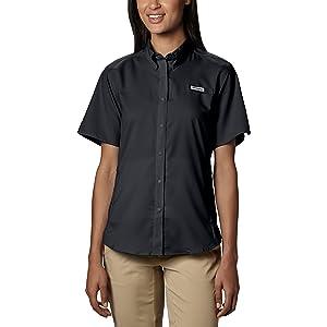 4e0e78fad1c Columbia Women's Tamiami II Short Sleeve Shirt, UPF 40 Sun Protection