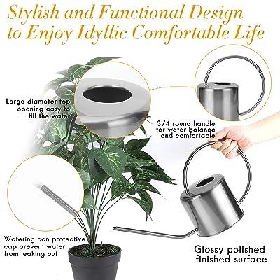 2 x Plastic Watering Can Spout For Plants Flowers Home Decor No Cap Design