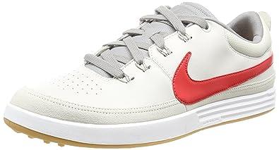 sale retailer d521f 63643 Nike Men s Lunar Waverly Golf Shoes, Beige (Light Bone University Red Dust