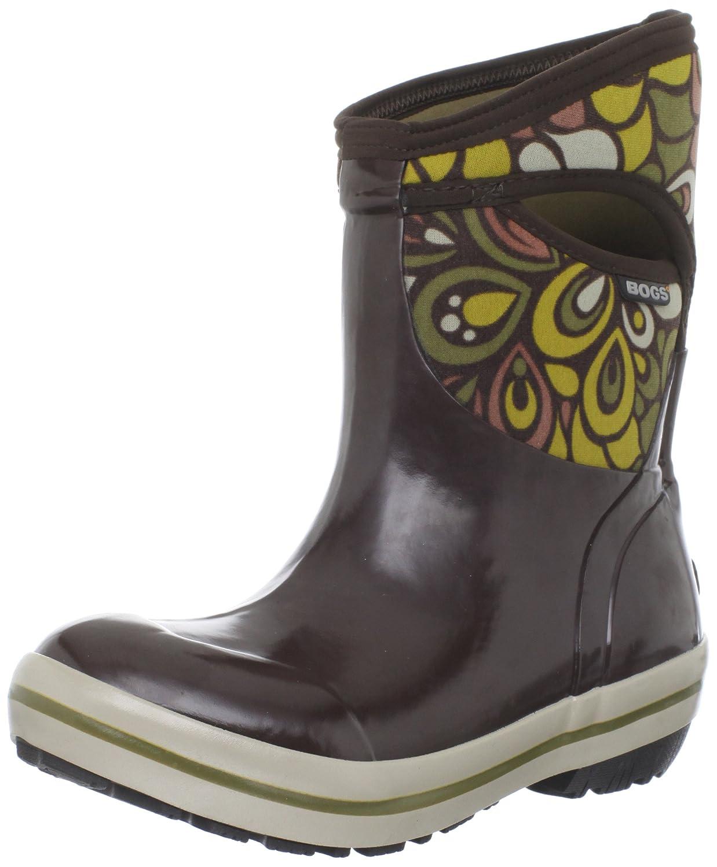 Bogs Women's Plimsoll Mid Vintage Waterproof Winter & Rain Boot