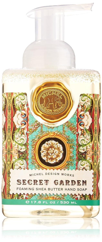 Michel Design Works Foaming Hand Soap, 17.8 Fluid Ounce, Secret Garden