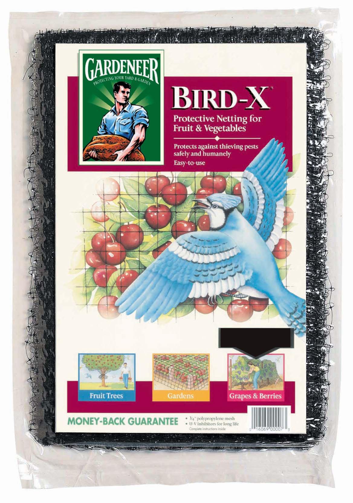 Gardeneer BN-5 14' x 75' Bird-X® Netting